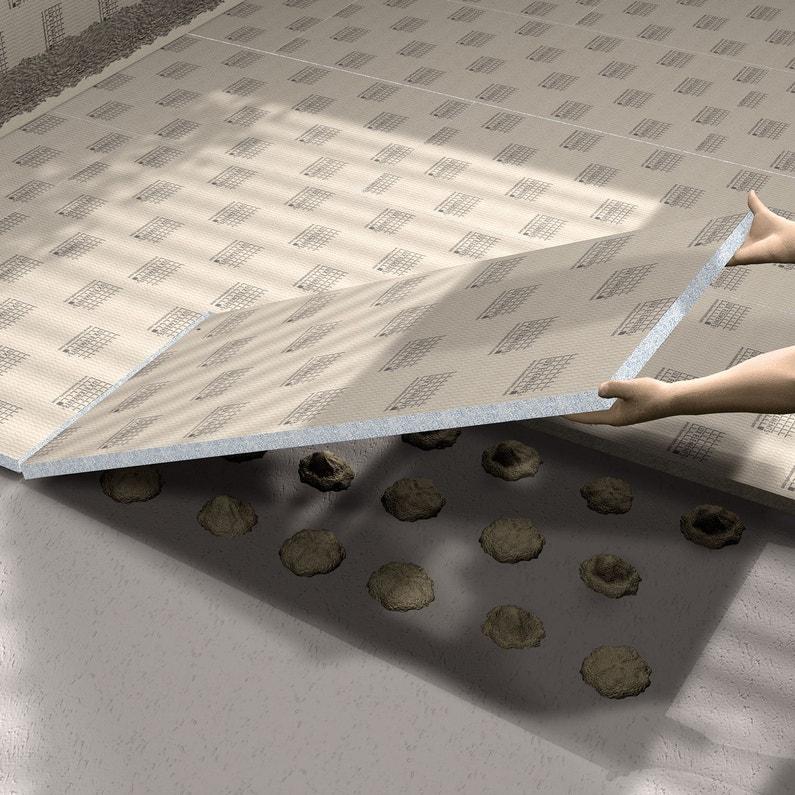 Panneau prêt à carreler H.125 x l.60 cm , ép. 4 mm | Leroy Merlin