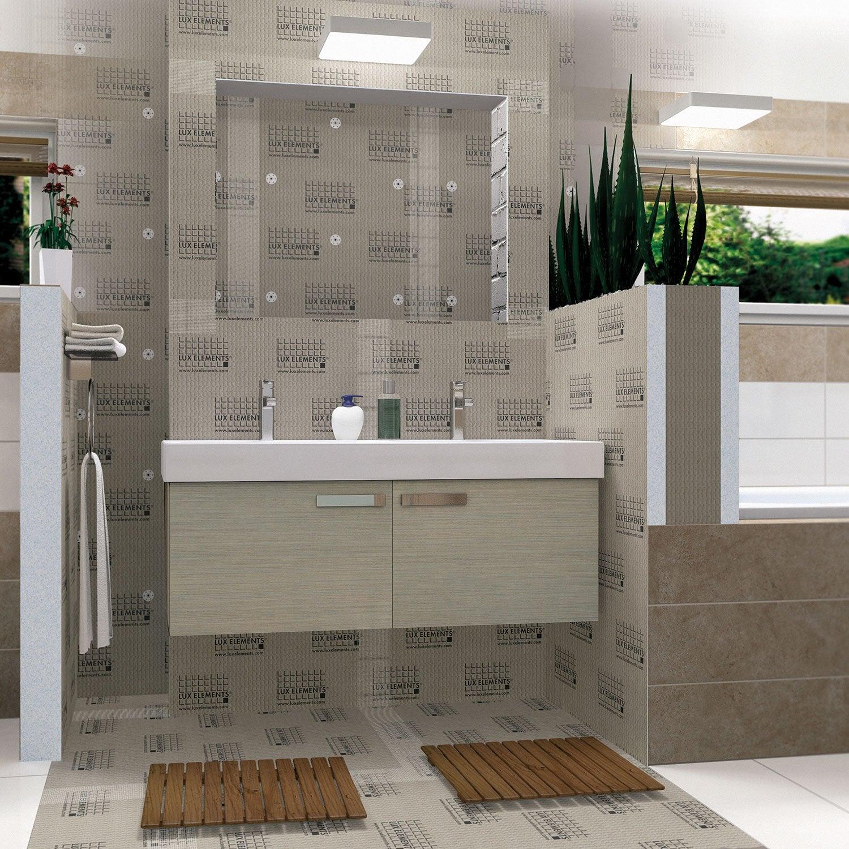 panneau pr t carreler x cm p 30 mm leroy merlin. Black Bedroom Furniture Sets. Home Design Ideas
