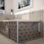baignoire rectangulaire cm blanc jacob. Black Bedroom Furniture Sets. Home Design Ideas