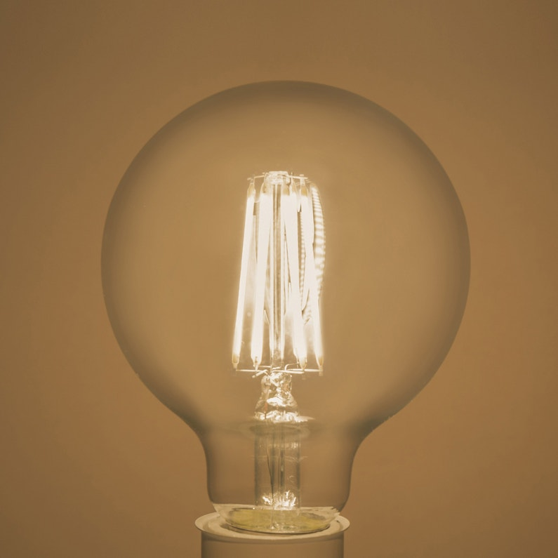 Ampoule Led Globe 95 Mm E27 1055 Lm 75 W Neutre Lexman