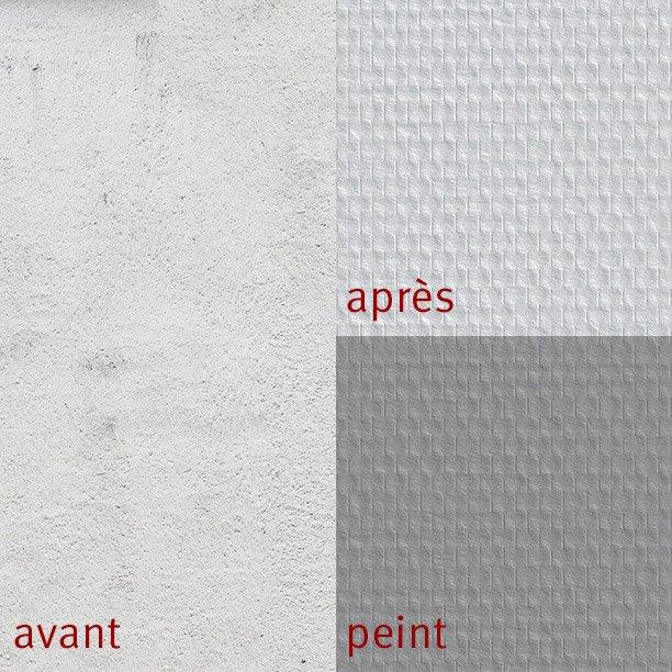 Fibre De Verre Maille Prépeinte Prépeint 130 Gm²