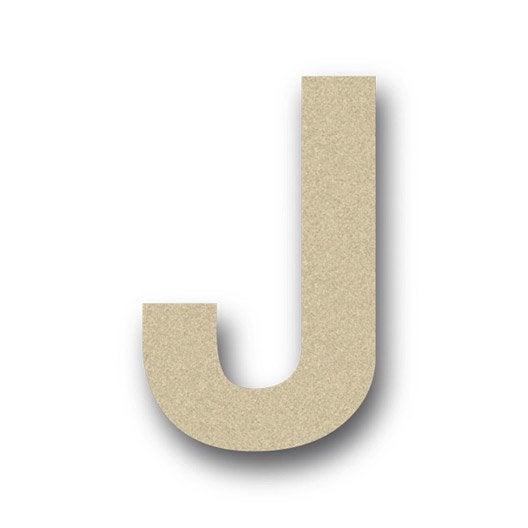 lettre bois majuscule j 6 cm x 6 cm leroy merlin. Black Bedroom Furniture Sets. Home Design Ideas