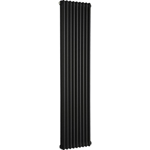 radiateur chauffage central tesi noir cm 1520 w leroy merlin. Black Bedroom Furniture Sets. Home Design Ideas
