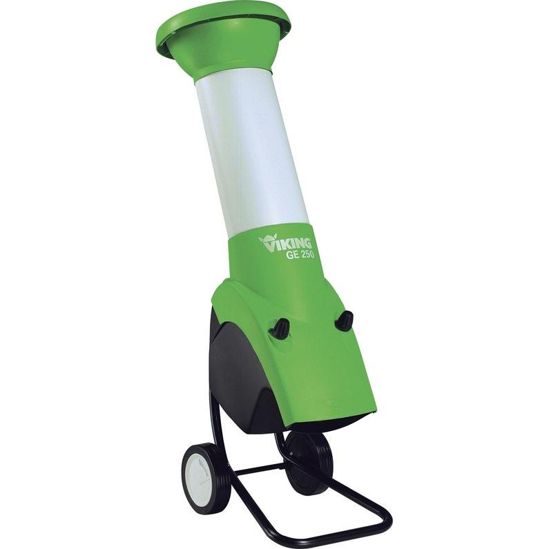 Broyeur de végétaux électrique VIKING Ge250 | Leroy Merlin