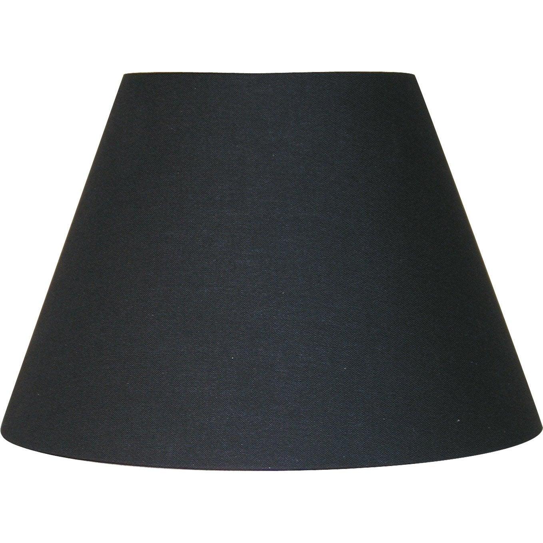 Abat-jour Sweet, 25 cm, coton, noir-noir n°0 INSPIRE