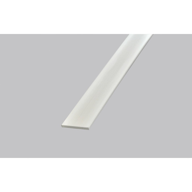Plat Pvc Blanc 2 X 20 Mm L26 M