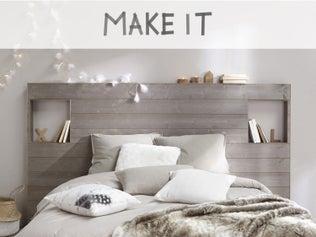 DIY : Réaliser une tête de lit en lambris