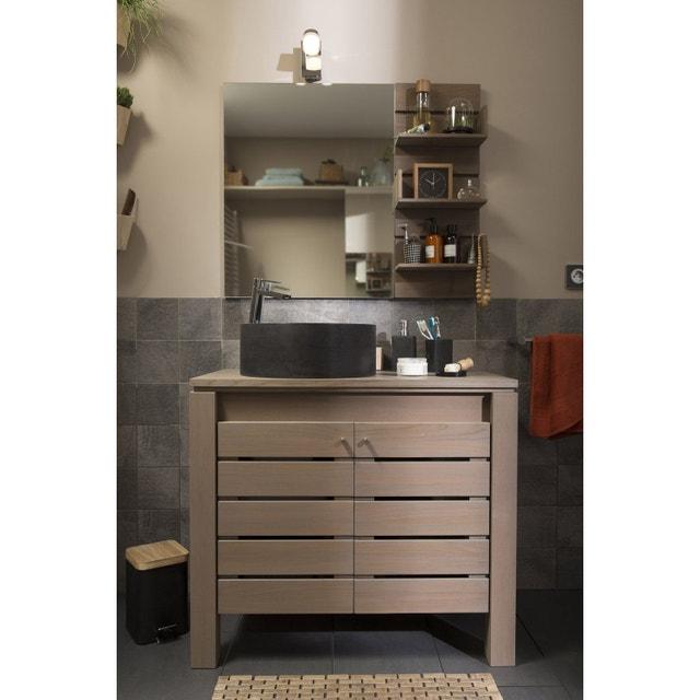 une salle de bains au style naturel leroy merlin. Black Bedroom Furniture Sets. Home Design Ideas