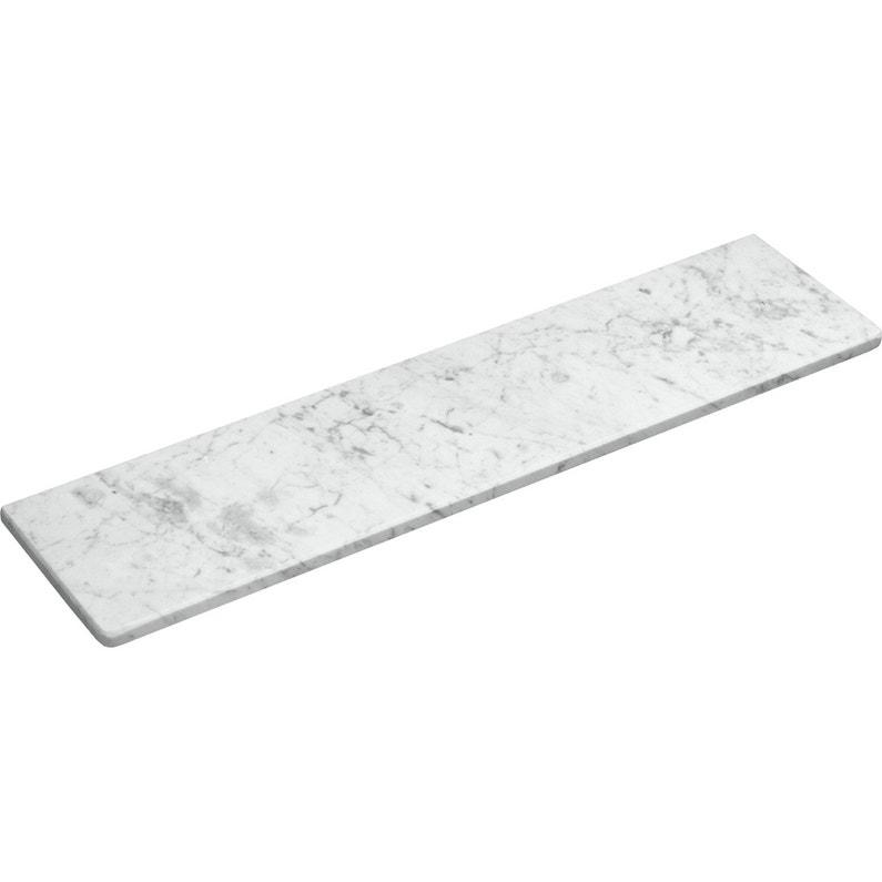 Tablette Radiateur Blanc L 60 X P 20 Cm Ep 20 Mm