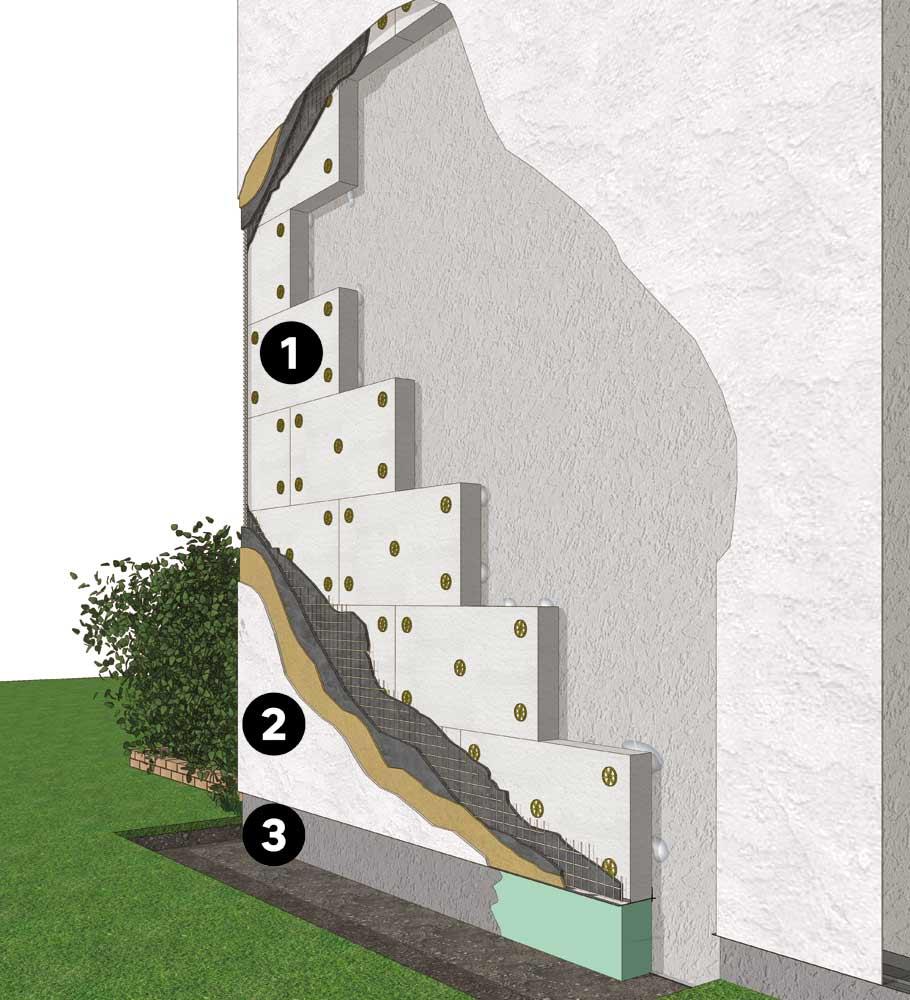 Isolation Mur Exterieur Renovation isoler la maison par l'extérieur | leroy merlin