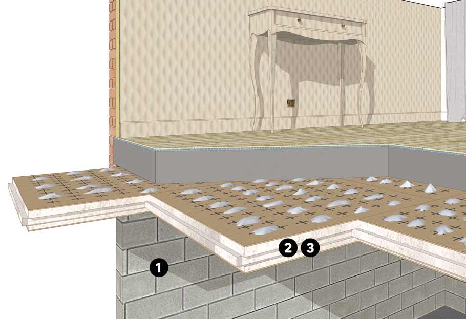 isolation du sol plus personne n 39 a froid au pied leroy. Black Bedroom Furniture Sets. Home Design Ideas