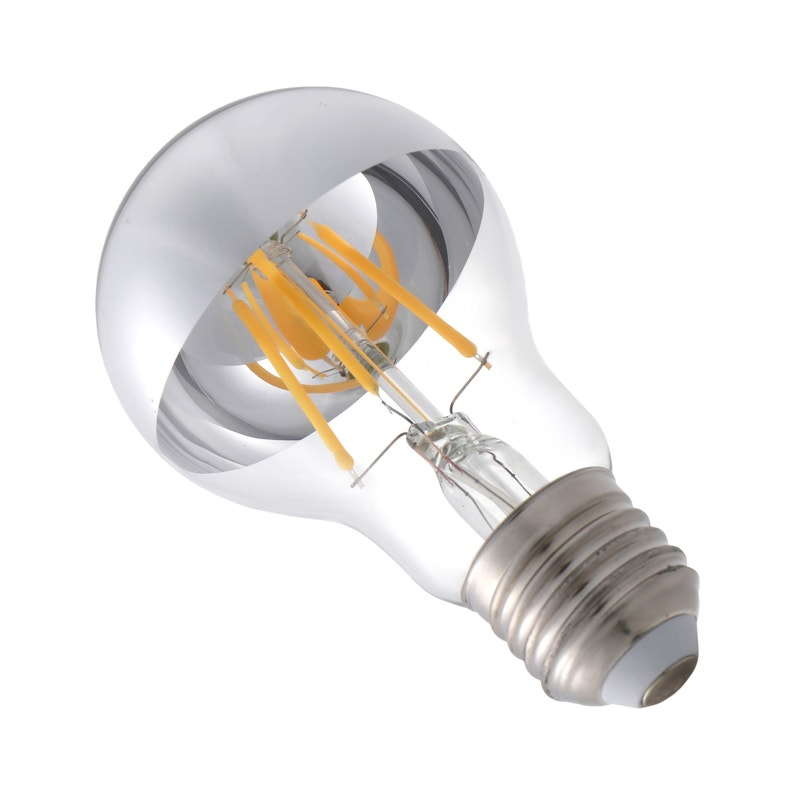 Ampoule Décorative Led Argenté Standard E27 470 Lm 40 W Blanc Chaud Lexman