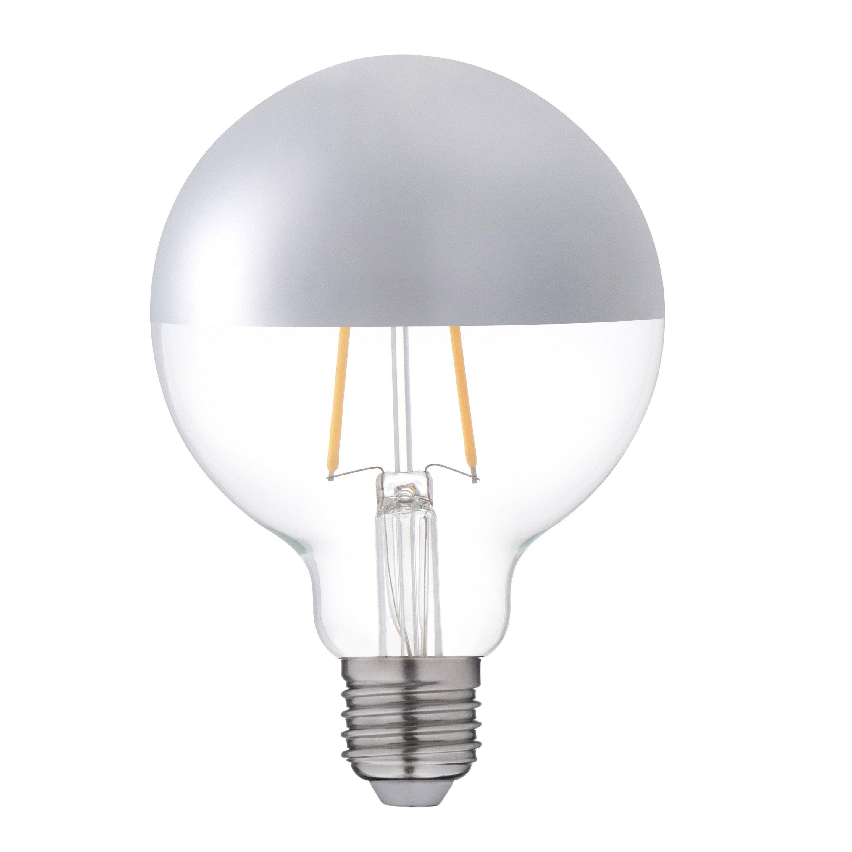 Blanc Mm E27 Argenté ChaudLexman Lm2 8 Ampoule Décorative Led 95 W 300 34AR5jL