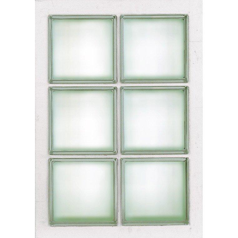 Panneau 6 Briques De Verre Transparent