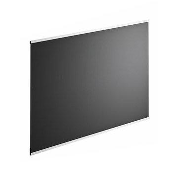 Fond de hotte verre Dark noir H.70 cm x L.90 cm