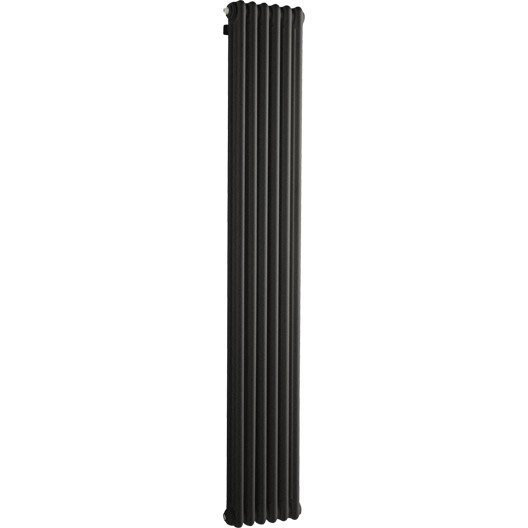 radiateur chauffage central tesi noir cm 1014 w leroy merlin. Black Bedroom Furniture Sets. Home Design Ideas