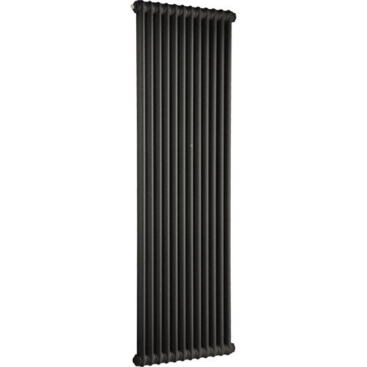 radiateur chauffage central tesi noir cm 1491 w leroy merlin. Black Bedroom Furniture Sets. Home Design Ideas