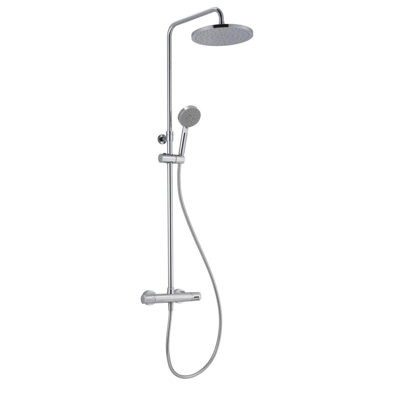 colonne de douche avec robinetterie sensea siryo plus leroy merlin. Black Bedroom Furniture Sets. Home Design Ideas