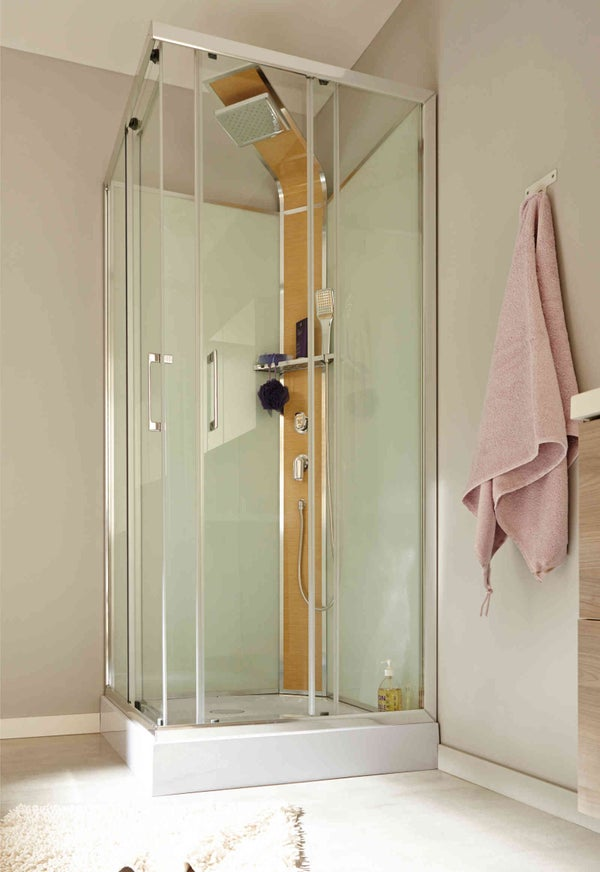 Comment choisir sa cabine de douche leroy merlin for Carrelage 80x80 leroy merlin