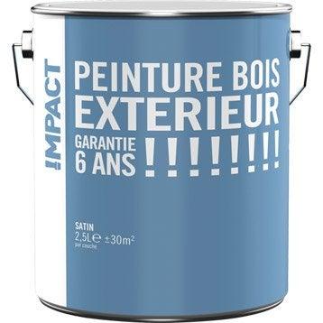 Peinture pour bois ext rieur leroy merlin for Peinture pour pvc exterieur