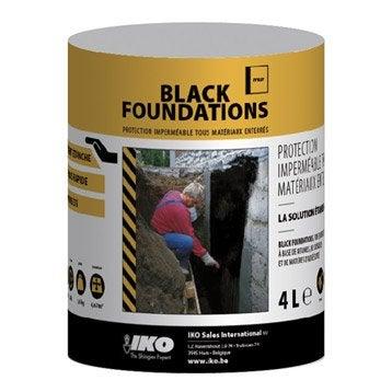 Enduit de fondation IKO Black foundation 4 l noir