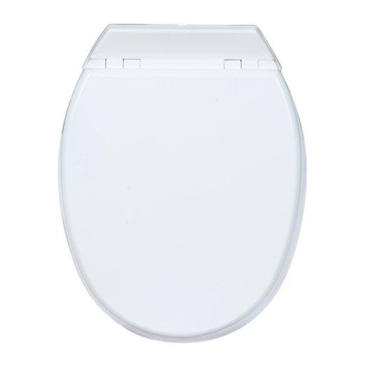 abattant pour wc et accessoires toilette wc abattant et lave mains au meilleur prix leroy. Black Bedroom Furniture Sets. Home Design Ideas