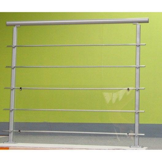 5 tubes acier zingu 2 m leroy merlin. Black Bedroom Furniture Sets. Home Design Ideas