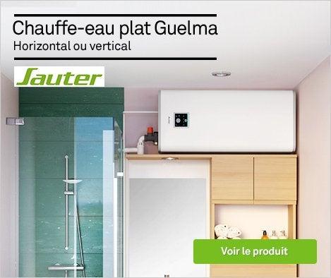HOP - Chauffe-eau plat électrique horizontal ou vertical SAUTER Guelma - 71903986