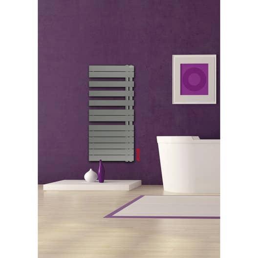 s che serviettes eau chaude acier acova alpaga asym trique couleur 594 w leroy merlin. Black Bedroom Furniture Sets. Home Design Ideas