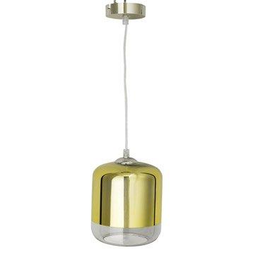 Suspension, e27 design Myrta verre or 1 x 60 W INSPIRE