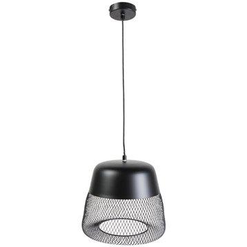 Suspension, e27 design Tofua métal noir 1 x 60 W INSPIRE