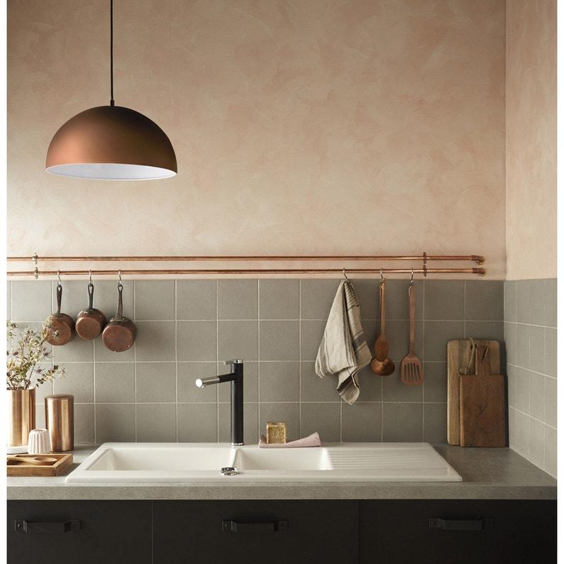 suspension e27 design anzu m tal cuivre 1 x 60 w inspire leroy merlin. Black Bedroom Furniture Sets. Home Design Ideas