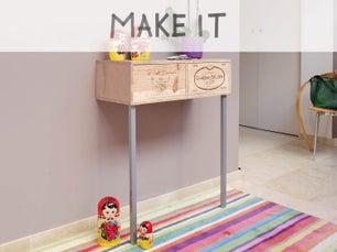 diy cr er une tag re en bambou leroy merlin. Black Bedroom Furniture Sets. Home Design Ideas
