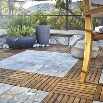 dalle et carrelage ext rieur pierre naturelle et bleue ardoise leroy merlin. Black Bedroom Furniture Sets. Home Design Ideas