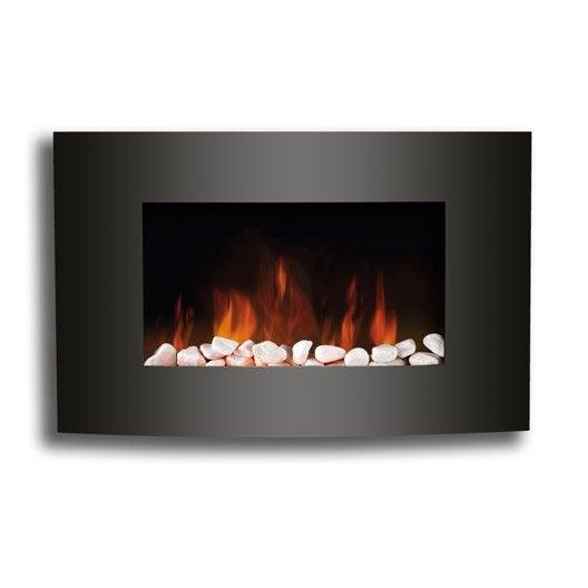 Chemin e lectrique chauffage d 39 appoint et climatisation - Leroy merlin cheminee ...