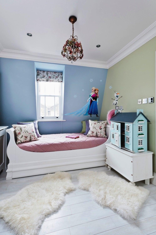 Une chambre fille au style de la reine des neiges | Leroy Merlin
