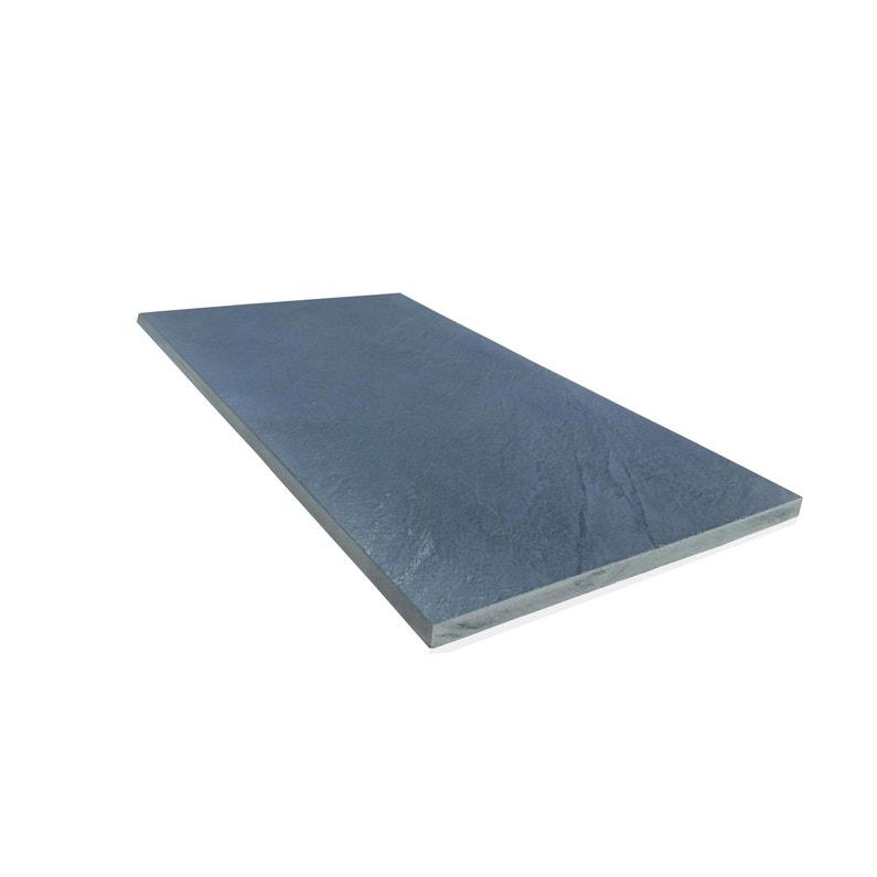 Traverse Droite Ardoise Bleu H40 X L75 Cm