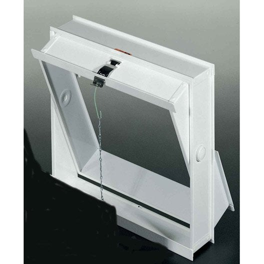 Ch ssis ouvrant pour 4 briques de verre leroy merlin - Salle de bain pave de verre ...