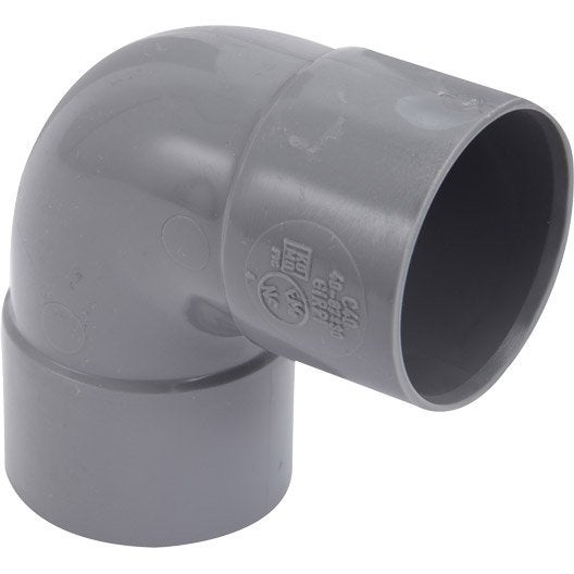 tube et raccord d 39 vacuation d 39 eau raccord pvc tuyau coude au meilleur prix leroy merlin. Black Bedroom Furniture Sets. Home Design Ideas