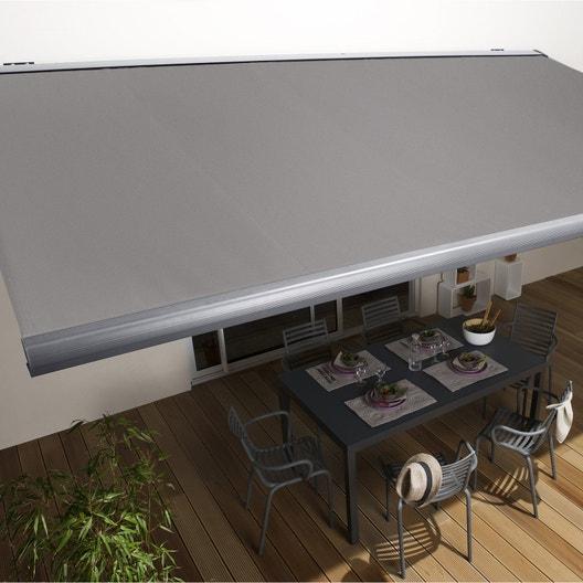 pose d 39 un store banne manuel leroy merlin. Black Bedroom Furniture Sets. Home Design Ideas