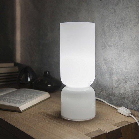 Lampe Moderne Verre Blanc Inspire Diabolo