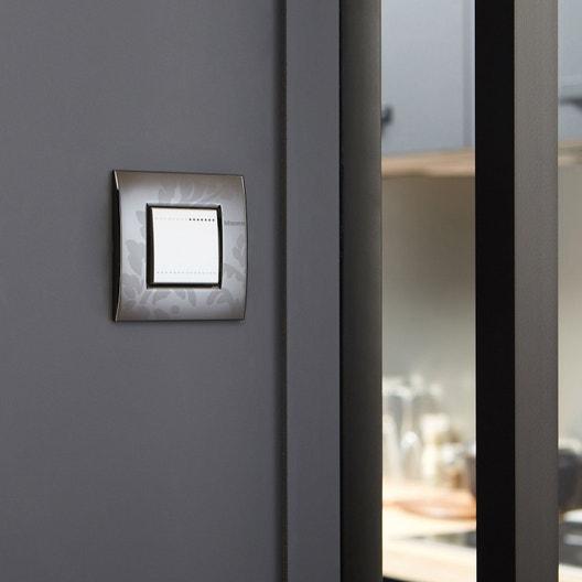 Interrupteurs et prises BTICINO, série Living light marron | Leroy ...