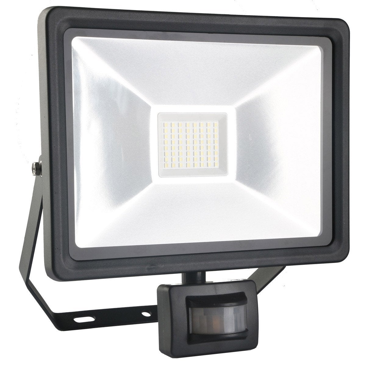 Projecteur Fixer D Tection Ext Rieur Led Int Gr E 50 W 3750 Lm