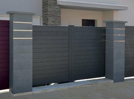 comment choisir ses piliers de portail leroy merlin. Black Bedroom Furniture Sets. Home Design Ideas