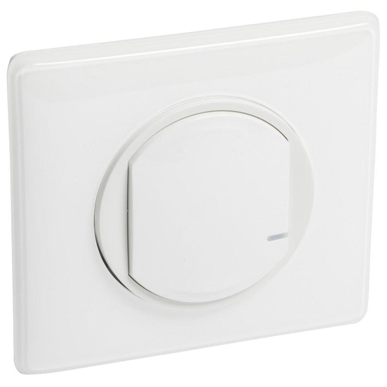 grande vente au rabais meilleure qualité pour grande remise Interrupteur variateur connecté éclairage blanc Céliane with netatmo LEGRAND