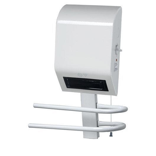 Radiateur soufflant salle de bain fixe lectrique triomph for Radiateur soufflant salle de bain leroy merlin