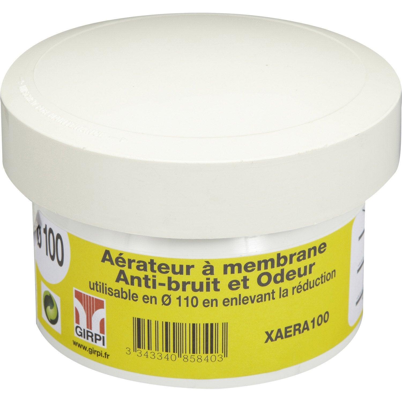 Aérateur à Membrane En Pvc à Coller Femelle D110100