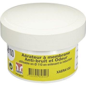 Aérateur à membrane en pvc à coller, femelle, D110/100