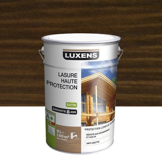 lasure luxens haute protection 5 l ch ne moyen leroy merlin. Black Bedroom Furniture Sets. Home Design Ideas