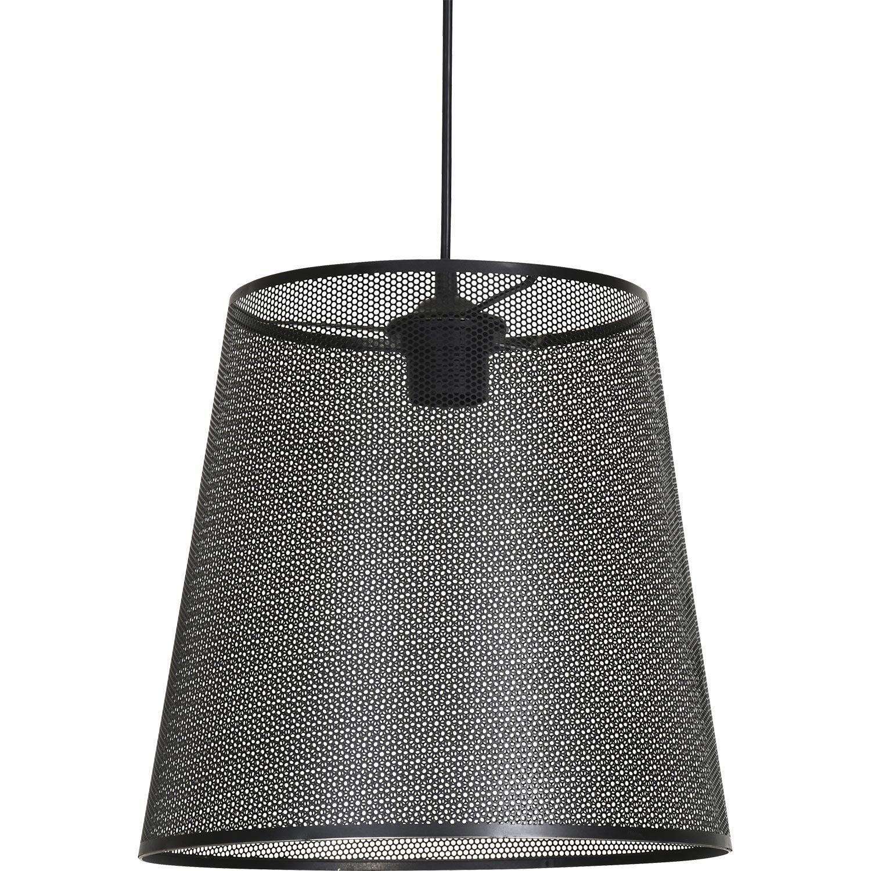 suspension e27 style industriel fuzo m tal noir 1 x 60 w corep leroy merlin. Black Bedroom Furniture Sets. Home Design Ideas